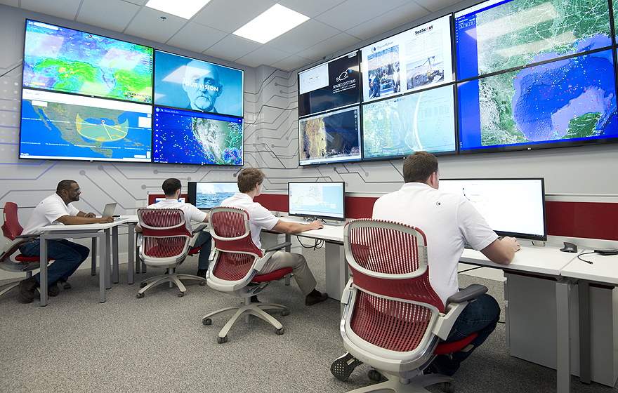 Decorative photo of control room